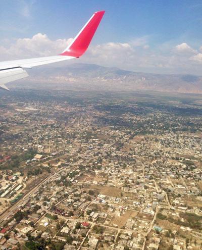 Haiti Air Canada Plane